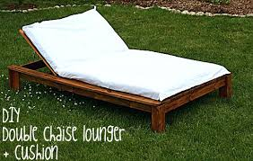 patio double chaise lounge pictures gallery of captivating double chaise lounge cushion outdoor cushions patio furniture