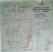 coleman 3500 electric furnace intertherm electric furnace wiring Coleman Mobile Home Gas Furnace Wiring Diagram wiring here's the schematic diagram for my furnace i colored the lines to hopefully make it a intertherm mobile home Evcon Mobile Home Furnace Diagram