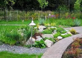 20 Fabulous Rock Garden Design Ideas Outdoor Living Beautiful Garden With Rock Waterfall Idea