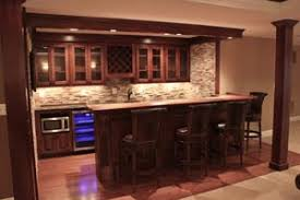 Basement Bar Designs basement bar design ideas | custom home builders |  northern