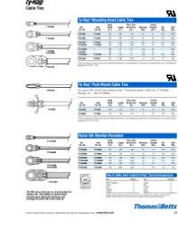 Cable Tie Sizes Chart India Ty523mx