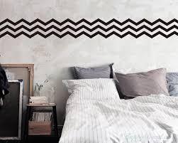 3 chevron stripes wall decal