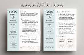 Pretty Resume Template 2 Custom Roundup 48 Clean And Creative Resume Templates EveryTuesday