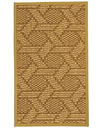 naturalarearugs seattle sisal area rug handmade in usa 100 natural sisal non slip latex backing durable 3 feet by 5 feet tan border
