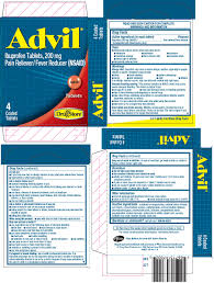 Advil Tablet Coated Lil Drug Store Products Inc