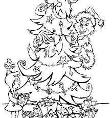 Printable Coloring Pages Grinch Pdf For The Who Stole