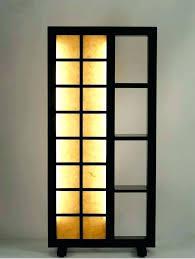 Corner Floor Lamp With Shelves Fascinating Shelf Floor Lamp With Shade Lamp Corner Lamp Shelf Floor Lamps