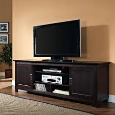 solid oak tv stands inch stand intended for walker solid wood with sliding doors inspirations 4