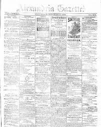 Alexandria Gazette Alexandria Dc 1834 1974 October 29 1881