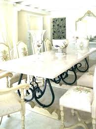 white marble top round dining table set room rou