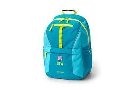 Lands End Classmate Medium Backpack Solid Colors