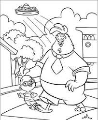 Small Picture Chicken Little Kiss Abbye Coloring Page Chicken Little