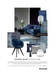 furniture style guide. Danish Furniture Brand BoConcept\u0027s Style Guide: Coastal Blue Mood Board For Interior Design Inspiration. Guide