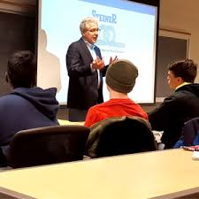 Steiner CEO Speaks on Business and Family at Champlain College   Steiner  Electric Company Blog