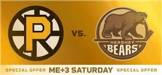 Providence Bruins Vs Hershey Bears Dunkin Donuts Center