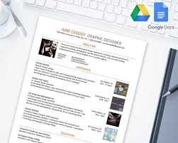 Google Drive Resume Amazing Creative Resume Template For Google Docs Google Drive Etsy