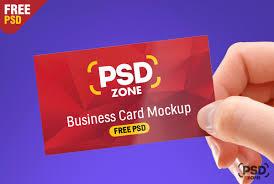 Free Business Card Mockup Psd Psd Zone