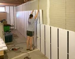 floor to ceiling insulation in a brick wall basement basement wall systems a37