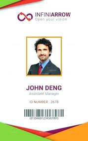 Teacher Photo Template Badge Id Free Badges Staff Download Photoshop Card