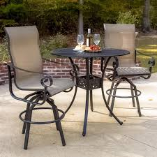 Small Outdoor Table Set Lakeview Outdoor Designs La Salle 2 Person Sling Patio Bar Set
