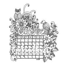 Small Picture Instant digital download coloring page april 2016 calendar