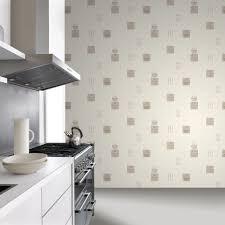 Kitchen Wallpaper Rasch Tile Pattern Cafc Restaurant Kitchen Vinyl Wallpaper 888102