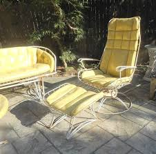 mid century modern five piece wrought