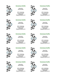 Microsoft 2013 Templates Microsoft Word Blank Business Card Template 10 Per Page