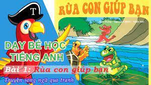 Giúp trẻ phát triển kỹ năng ngoại ngữ bằng những bộ truyện tranh tiếng Anh  thiếu nhi