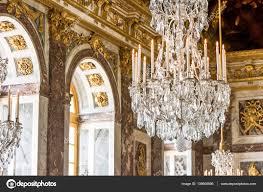 Kronleuchter Von Versailles Redaktionelles Stockfoto