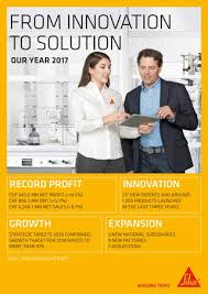 Sika Annual Report 2017 By Sika Ag Issuu