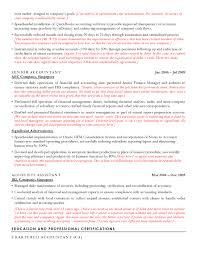 Accounting Resume Sample Cv Sample For Accountants