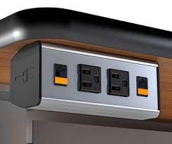 desk power outlet. Cool VertDesk V3 Electric Adjustable Height Desk Page 2 Networked Tables? Power Outlet