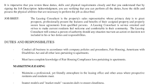 Fascinating Leasing Manager Resume Prepasaintdenis Com