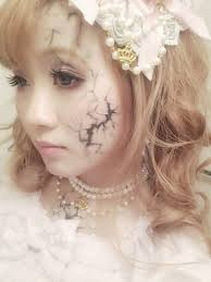 drawn doll style makeup 11