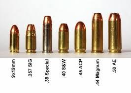 Handgun Caliber Guide 22lr 9mm 380 357 And More