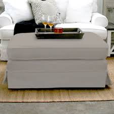French Ottoman chelsea ottoman footstool slip cover french dressing 6719 by guidejewelry.us