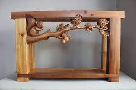 hand carved furniture.  Carved Hand Carved Furniture Custom Sofa Tables Wood Carving By Lazy River Studio Intended Furniture