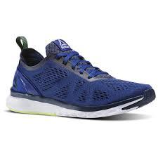 reebok running shoes 2013. reebok - print smooth clip ultraknit deep cobalt / collegiate navy electric flash white running shoes 2013 n