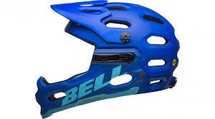 Bell Super 3r Size Chart Bell Super 3r Mips Fullface Helm Gr S 52 56cm Matte Blue Bright Blue Mod 2020