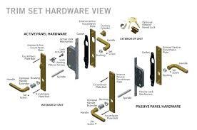 kwikset door parts door handle parts door parts names marvelous door parts names