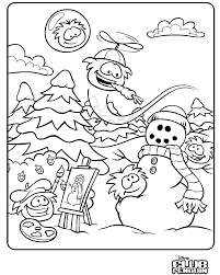 Small Picture Club Penguin Puffle Coloring Pages GetColoringPagescom