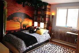 African Themed Bedroom Ideas