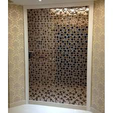 glass bathroom tiles shower gold stainless steel for kitchen and bathroom metal and glass mosaic tile