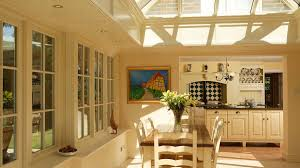 Small Kitchen Extensions Orangery Kitchen Extension With Fascinating Glass Roofs Also