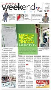 Kabupaten dengan motto ramik ragom ini berbatasan langsung dengan sumatera selatan di sebelah utara. Lampung Post Weekend Minggu 10 September 2017 By Lampung Post Issuu