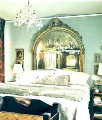 Mirrored Headboards Antique Silver Mirror Headboard Mirrored Gorgeous Bedrooms And More