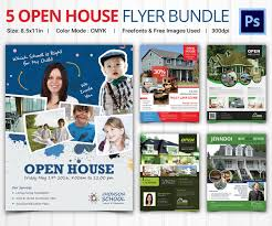 doc open house real estate flyer template open house flyer template 30 psd format
