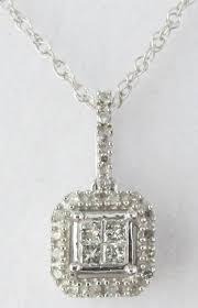 last one r36741 diamond pendant 0 510ct round princess cut optional chain see