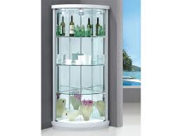 White And Glass Cabinet Showcase For Sale Clear Display Cabinets  Full Wood Case Glass Cabinet For Sale I9